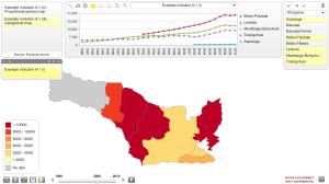Pra Tinjau Kabupaten Gorontalo dengan StatPlanet