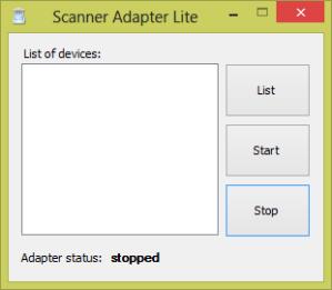 Jendela Scanner Adapter Lite